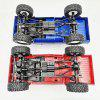 WPL C24 2.4G 4WD RC Car Model - CHESTNUT RED