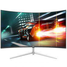 Gearbest AOC C24V1H 23.6 inch Curved Screen LCD Monitor 1080P