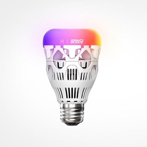 HUAWEI Colorful Energy Saving Smart Light Bulb for Home Use - SILVER