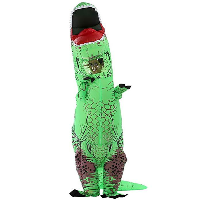 Halloween dinosaur inflatable clothing adult cosplay performance props