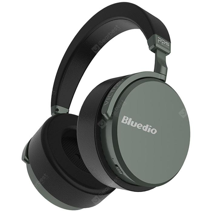 Bluedio V2 Smart Bluetooth Wireless Headsets Bass Gaming Noise Reduction Headphones - BLACK