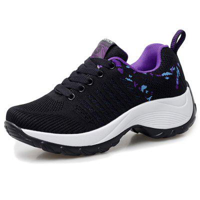 Women's Sneaker Durable Woven Material