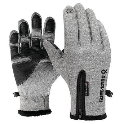 Outdoor Climbing Riding Screen Touching Gloves for Winter Use 2pcs