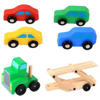 Wooden  Vehicle Truck Kids Toy Car Model for Baby Gift