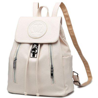 2018 New Fashion Embossing Leisure Backpack for Woman