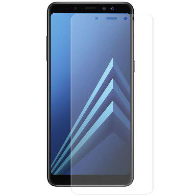 Hat - Prințul anti-amprentă digitală de film PET de 0,1 mm 3D pentru Samsung Galaxy A8 Plus 2018