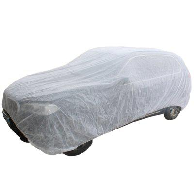General Single Layer Non-woven Car Cover for Dust-proof 3.8 x 6.6m