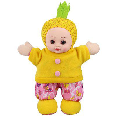 T1225A Cute Pineapple Girl Plush Doll for Gift