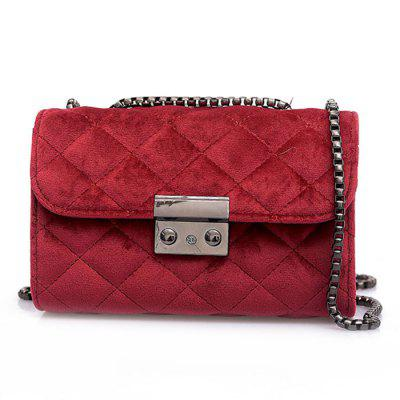 Simple Fashion Pure Color Crossbody Bag