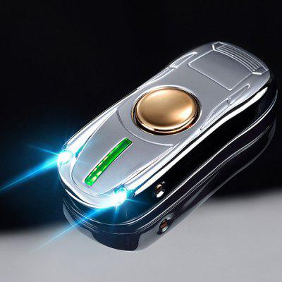 Creative Sports Car Gyro USB Charging Lamp Heating Wire Fingertip Cigarette Lighter