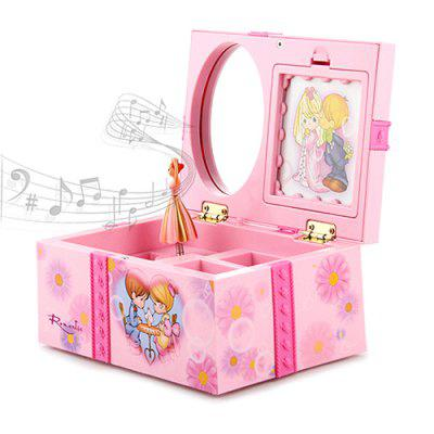 Cartoon Jewelry Dancing Music Box