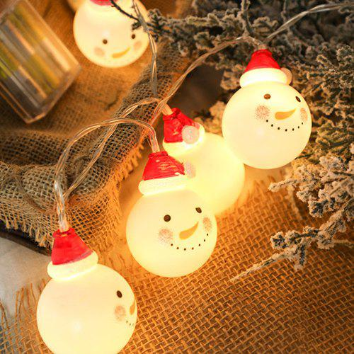 Led Christmas Lights For Room.Led Christmas Snowman 1 5m String Light For Room Decoration