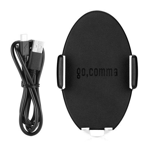 Gocomma AQLCZZJ - ZSCM01 Wireless Fast Charge Car Mount Qi Enabled Devices for Samsung Galaxy S9 / S9 Plus / S8 / S7 / S7 Edge / Note 8 / Note 5