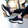 Women's Sneaker Durable Woven Material - BLACK