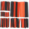 Electrician DIY Red And Black Heat Shrinkable Tube 150 Sets - MULTI-A