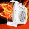 Home Small Vertical Energy-saving Power Bathroom Hot Dormitory Mini Air Conditioning Heater - WHITE