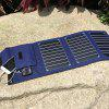 Portable 15W Folding Bag Solar Charger for Mobile Phones - NAVY BLUE