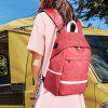 DC.meilun Men Traveling Backpack Outdoor Anti-theft - BEAN RED