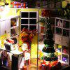 Y - 001 Christmas DIY Model Doll House Toy Handmade Creative Gift with Light - #001