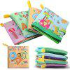 Baby Stereo Cloth Book Early Education Toys - MULTI-C