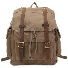 Encrypted Cotton Canvas Backpack for Men and Women
