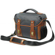 Waterproof Canvas Retro Shoulder Camera Messenger Bag for Man