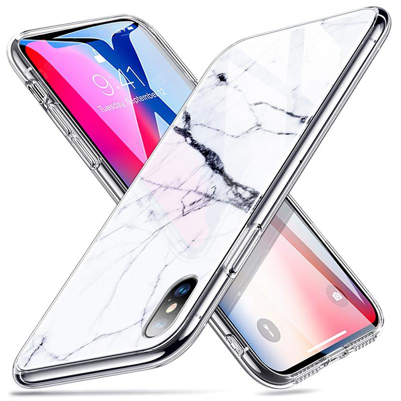 esr coque iphone xr marbre