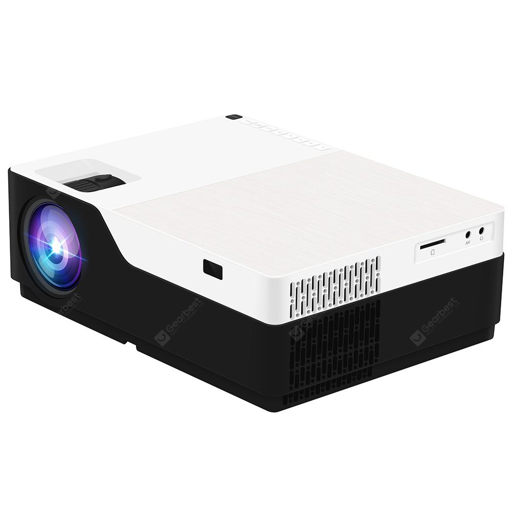 M18 LCD FHD Home Theater Projector - Black EU Plug