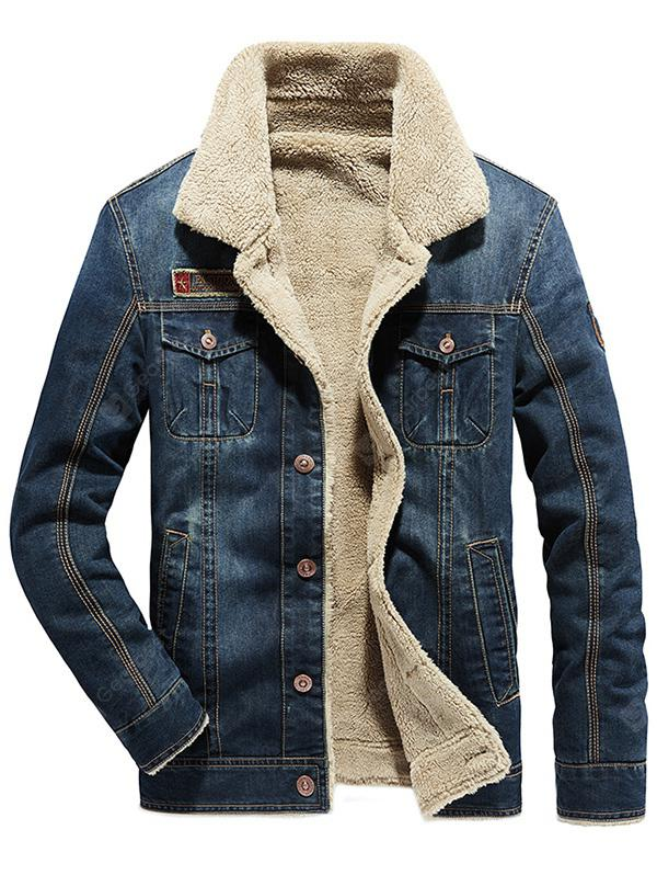 Men Fashion Warm Comfortable Leisure Chaqueta