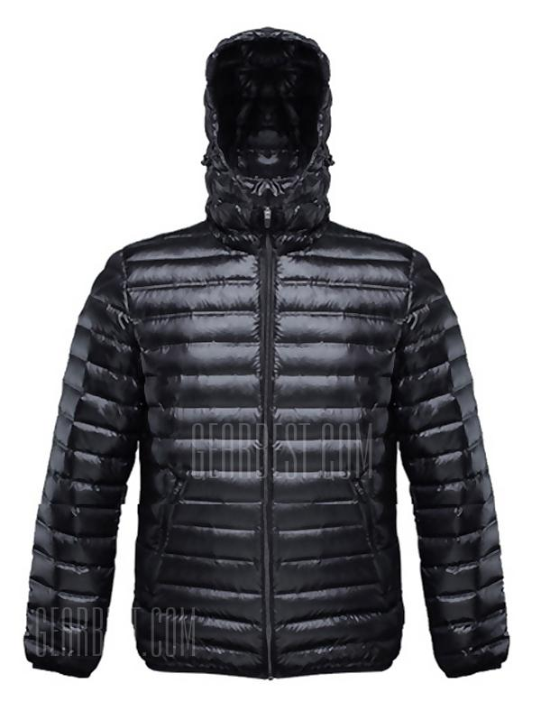 90FUN Lelaki Leisure Down Jacket Warm Light Weight