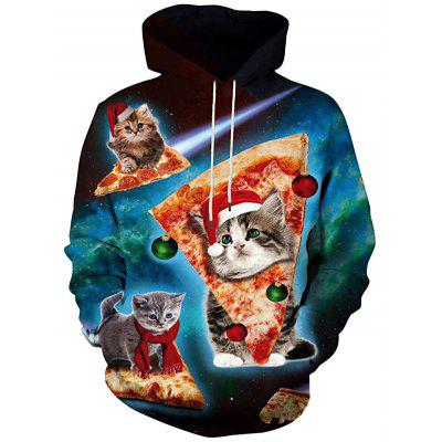 Men's Hoodie Fashionable Star Sky for Autumn