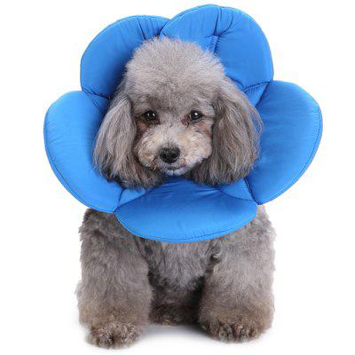 Cute Flower Shape Pet Neck Protection Cover