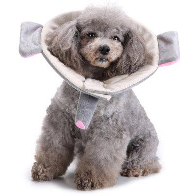Pet's Protective Collar Dog's Cow Flower Neck Scoop Beauty Medical Cover