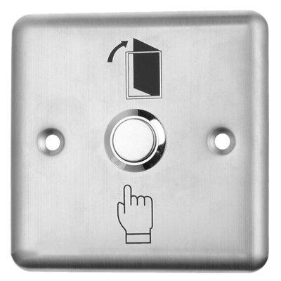 Square Stainless Steel Access Control Switch