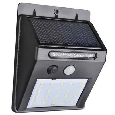 Solar Light 20 LED Human Body Induction Outdoor Garden Lamp