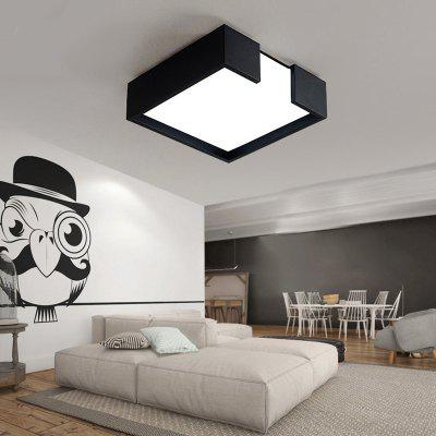 ZUNGE P277 Personality Modern Square Shape LED Ceiling Lamp