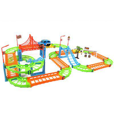 TONGLI DIY Assembled Electric High-speed Track Puzzle Toys Set