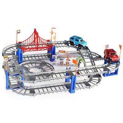 TONGLI DIY Assembled Electric High-speed Track Puzzle Toy Set