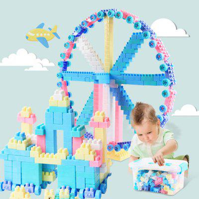 TONGLI DIY Large Particles Building Blocks Children Educational Toys 220pcs