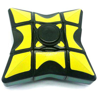 Creative Two-function Design Fingertip Gyro Cube Toy