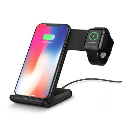 2 in 1 Fast Charging Wireless Charger Stations