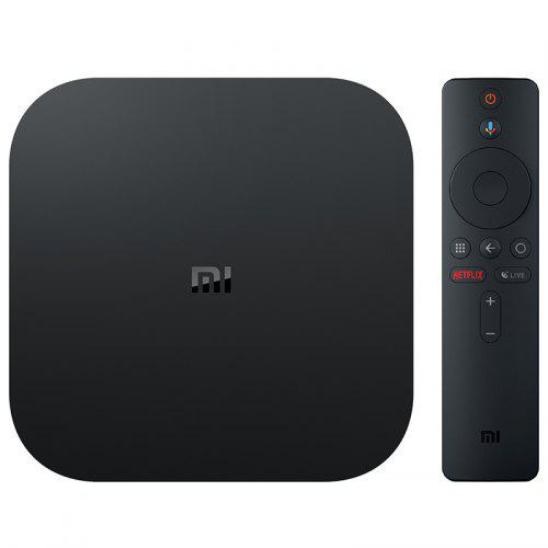 Xiaomi Mi Box S con 4K HDR Android TV Streaming Media Player Google Assistant Ufficiale a Distanza Versione Internazionale