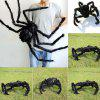 Spoof Simulation Plush Spider Toy - BLACK
