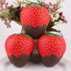 PU Slow Rebound Simulation Strawberry Squishy Toy 1pc - ROOD