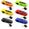Motorcycle Handle Anti-theft Handlebar Electric Bike Lock - YELLOW GREEN