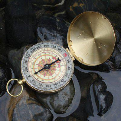 Buitendecoratie Knop Luminous Compass With Cover