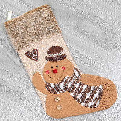 Q1015 Christmas Socks Style Gift Bag
