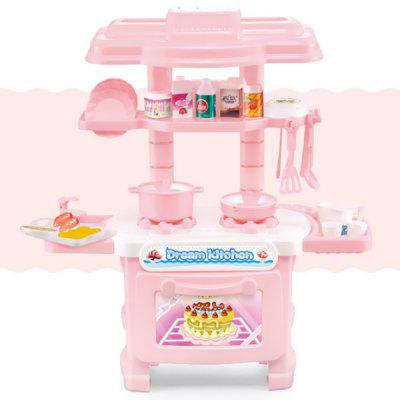 Simulation Cooking Kitchen Pretend Play Toy Set for Children