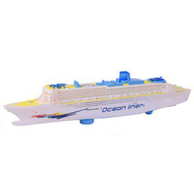 Children Light Music Cruise Ship Wheel Universal Electric Toy