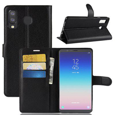 Naxtop Mobile Phone Wallet Flip Stand Cover for Samsung Galaxy A8 Star / A9 Star